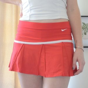 Nike Skirts - Women's Red Nike Court Victory Tennis Skirt